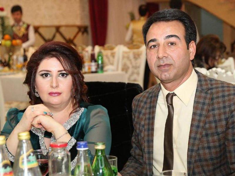 İlham Mirzəyev xanımı ilə qonaqlıqda – FOTO