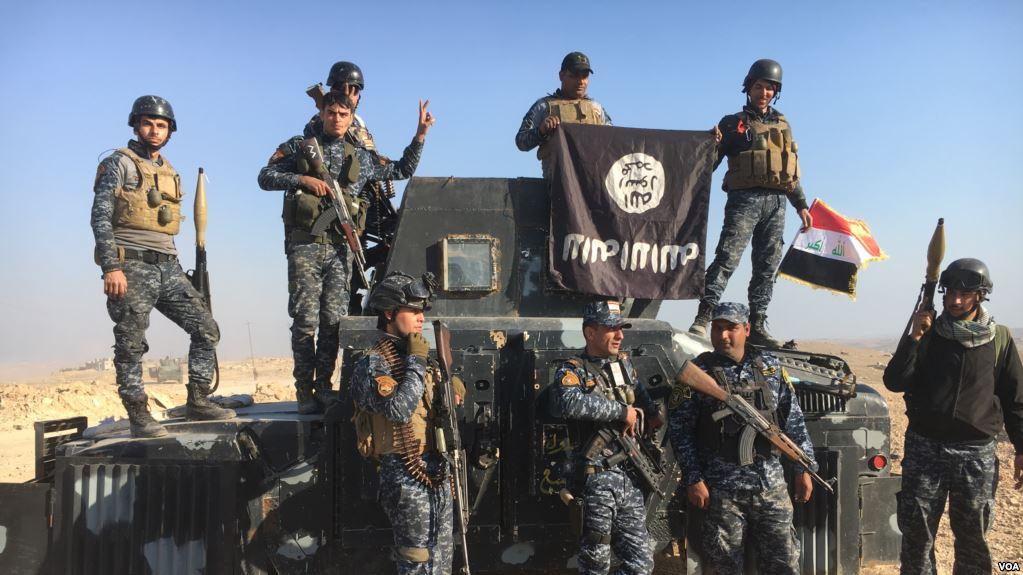 İraq hərbi qüvvələri Mosulun qərb hissələrinə doğru irəliləyir