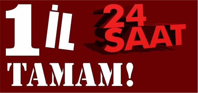 24saat.org saytının 1 yaşı tamam oldu