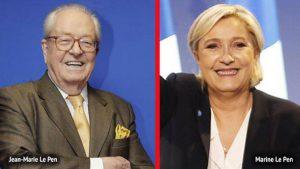 Ata Le Pen qızını tənqid edib