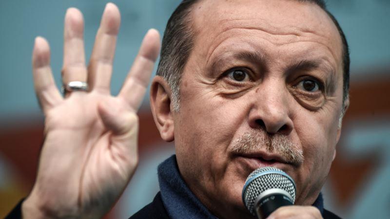 """Erdoğan """"başqa yerdə"""" hücum əməliyyatı hazırladığını deyib"""