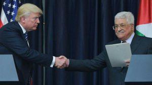 Tramp Fələstində Mahmud Abbasla görüşdü