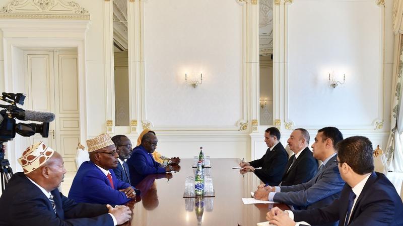İlham Əliyev Cibuti Milli Assambleyasının sədri ilə görüşdü – FOTO