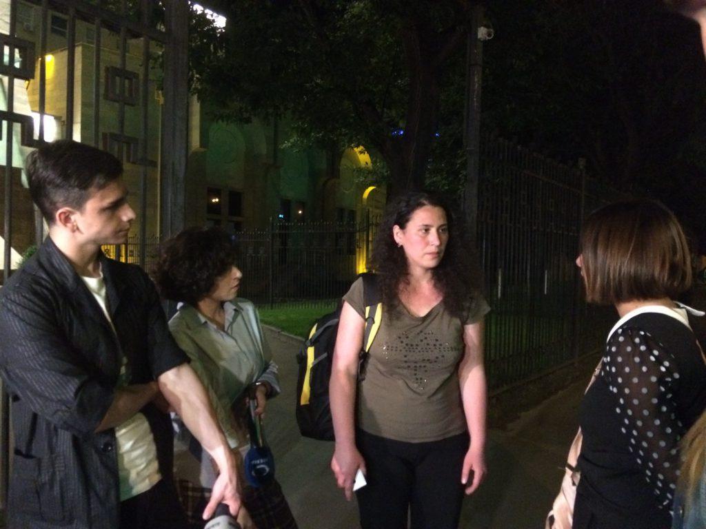 Leyla Mustafayeva: Həyat yoldaşımın oğurlandığı bir ölkənin vətəndaşı ola bilmərəm