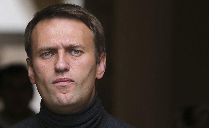 Aleksey Navalnıy saxlanılıb