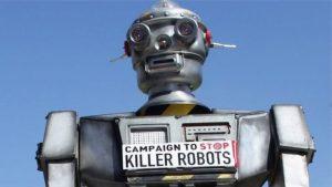 Adamöldürən robotların yaradılması qadağan edilməlidir