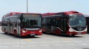Avtobuslarda gediş haqları artırıldı