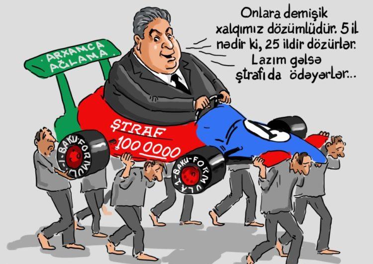 """'Formula 1"""" yarışı Azərbaycanda daha 5 il keçirilə bilər"""