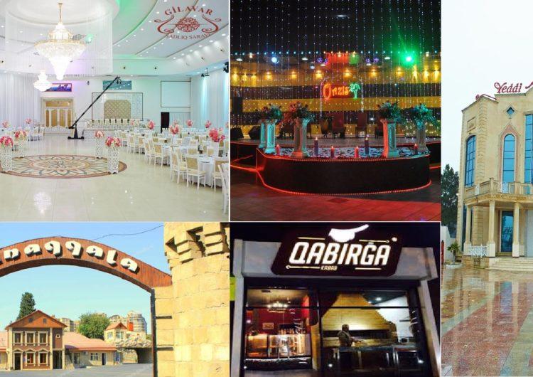 Bakıda 20 məşhur restoran bağlanma təhlükəsində – SİYAHI