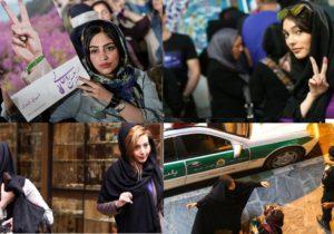 Baş örtüyünə görə qadınları həbs edən polisə hücum edildi – İran
