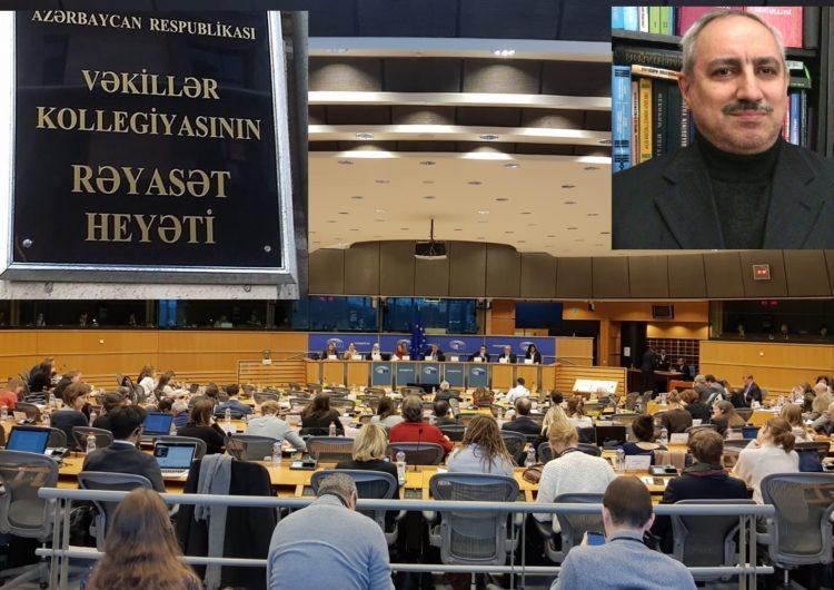 Avropa Parlamentinin komitəsində Vəkillər Kollegiyası tənqid edildi