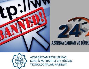 """""""24saat""""ın bloklanması ABŞ Dövlət Departamentinin hesabatında"""
